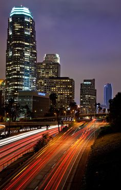 A City in Motion, Los Angeles | California (by Joshua Gunther)