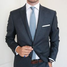 johannchristianbuddecke: Classic Combination   Knitted Tie from @hqmenswear   Get this one at www.hqmenswear.com and use HQ15 for 15% off.   #menstyle #menswear #menwithclass #menstyle #mensfashion #mensfashionpost #mnswr #mnswrmagazine #menslook #mensfas