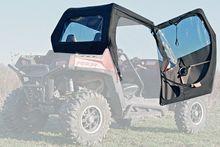 LED Headlights Conversion Kit UTV ATV Black High Low Beam 14-17 RZR 1000 XP 900