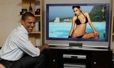 Larissa Riquelme en vivo Obama