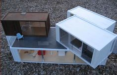 Shipping container design.