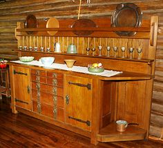 The Stickley Museum at Craftsman Farms: Dining Room: Large Sideboard, Circa 1910