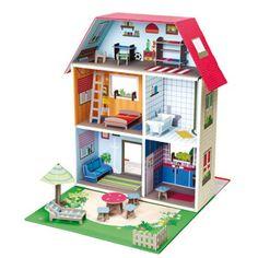 Maison en carton bricolage et jouets pour enfants - Bricolage au jardin 100 realisations pratiques et faciles ...