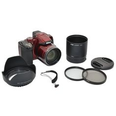 Kiwifotos Objektiv Zubehörset 6 teilig für Nikon Coolpix…