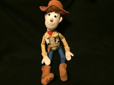 "Original Plush Toy Story Woody Cowboy Doll 23"""