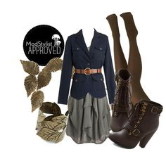 Turn a summer frock into a Fall statement piece by adding a tailored jacket, tights and boots!