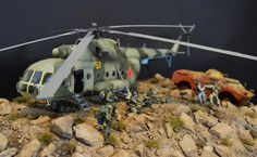 GRU special forces in Afghanistan scale: 1:35 | author: Alexander Vityukhovsky