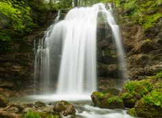A beautiful waterfall in a hidden valley Explore, Ponds, Oceans, Rivers, Lakes, Outdoor, Photograph, Waterfall, Outdoors