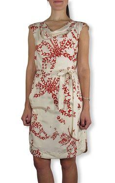 Hoss Intropia - Silk Cowl Neck Floral Dress