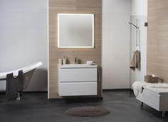 Bathroom Vanity, Bathroom, Single Vanity, Vanity, Oak, Bathtub, White