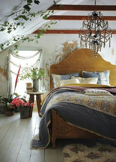 Shabby Rustic Bedroom