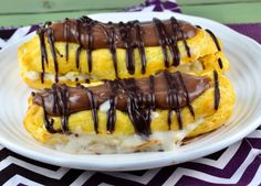 Sugar Free Chocolate Eclairs - have made it several times where it's been gobbled up by diabetics and non-diabetics alike! I hope you'll like it, too!