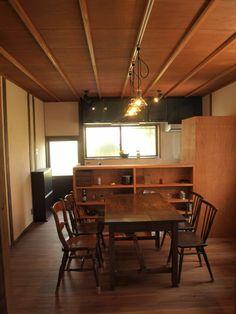 昭和レトロのリノベーション SKY Lab 関谷建築研究所 の 昼のダイニングキッチン2