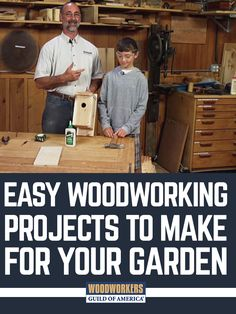 Whether you're planting vegetables, flowers, or shrubs, there's a good chance your garden could be improved with some custom woodworking projects. Or maybe you're looking for a gift for the gardener in your life? Either way, WWGOA has a variety of useful gardening projects for you to build this season.