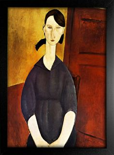 Poster Modigliani - Portrait of Paulette Jourdain