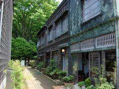houses in the edo period / tokyo open air architectural museum