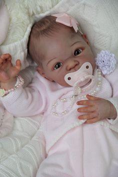 Reborn baby doll * CARMEN * - AVAILABLE Baby CARMEN is from kit Carmen by Adrie Stoete Reborn artist: Vessela Karloukovska Carmen is 20 inch