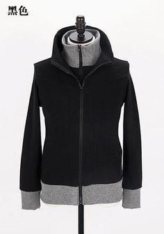 Men New Style Autumn Sport Casual Pattern Long Sleeve Black Cotton Hoodie M/L/XL@Q10b