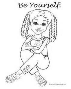 african american girl coloring page bing images - American Girl Coloring Pages Grace