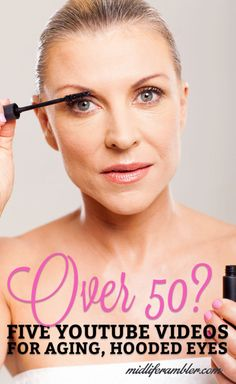Over 50? Dealing with hooded eyes and crepey skin? These videos will teach you how to adjust your makeup to enhance your eyes and correct any flaws.