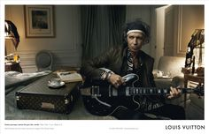 Louis Vuitton Keith Richards. Absolutely love this campaign, best ever!