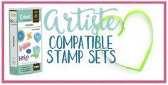 Complete Cricut Compatible Stamp set list!