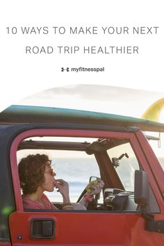 Whether you're going hiking, checking out a national park or visiting your favorite vacation spot on the coast, you can't beat a summer road trip. it's easy to feel as if taking road trips and enjoying your vacation means putting your healthy habits on hold. it's not impossible to stick to your diet goals on vacation. Take advantage of these 10 tips from health pros! #myfitnesspal #roadtripsnacks #vacationfood #vacationfoodideas #healthyroadtripfoods #healthyroadtripsnacks Healthy Eating Tips, Healthy Nutrition, Healthy Habits, How To Stay Healthy, Road Trip Snacks, Road Trips, Healthy Water, My Fitness Pal, Enjoy Your Vacation