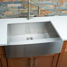 Hahn Chef Series Handmade Medium Single Bowl Farmhouse Sink