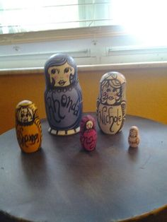 My daughter Nichole made these for me for Christmas.  I love them