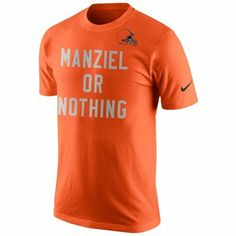 Johnny Manziel Cleveland Browns Nike Player or Nothing T-Shirt - Orange