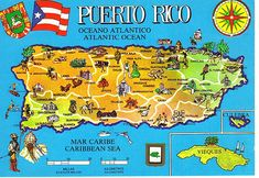 Map of Puerto Rico Puerto Rico Map, Living In Puerto Rico, Puerto Rico Island, Puerto Rico History, San Juan Puerto Rico, Carolina Puerto Rico, Puerto Rican Flag, Puerto Rican Culture, To Color