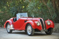 1937 Frazer-Nash BMW 328 Roadster. The most advanced sports car of its day, the 328 remained competitive for years after the war.