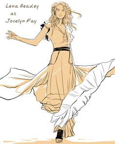 Lena Headey as Jocelyn Fray (done by Cassandra Jean)
