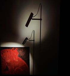 The shade is made from a tube of iron. The brass parts are solid and brushed and the base is made of welded iron. All metal parts are lacquered Handmade Pottery, Lighting Design, Home Accessories, Wall Lights, Table Lamp, Flooring, Iron, Floor Lamps, Crafts