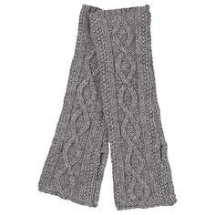 Cashmere / wool fingerless gloves, Avoca