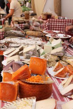 Mallorca, Cheese Market Santanyi, on Wdenesdays
