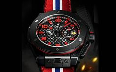 Hublot Big Bang Unico Ferrari   #relojes #wallpapers
