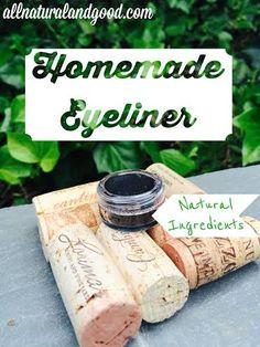 Homemade Eye Liner - All Natural & Good