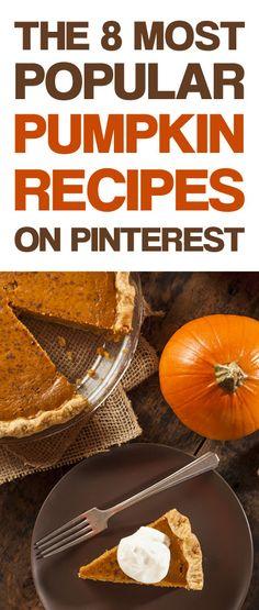 The 8 Most Popular Pumpkin Recipes on Pinterest