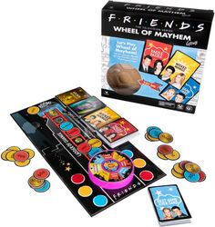 Shop Cardinal Games Friends Bamboozled Board Game at Best Buy. Find low everyday prices and buy online for delivery or in-store pick-up. Friends Theme Song, Friends Trivia, Friends Tv Show, Bamboozled Friends, Popular Family Board Games, Rush Hour Game, Traffic Jam Game, Disney Eye Found It, Mayhem Game