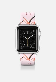 flamingos blossom pink apple watch band @Casetify #apple #watch #flamingo #band #strap #sharonturner #scrummy #flamingo #pink ~ get $10 off using code: 5A7DC3