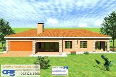 New House Plans, House Floor Plans, House Plans South Africa, Building Costs, Tuscan House, Site Plans, Garage Plans, Home Collections, Natural Hair Styles