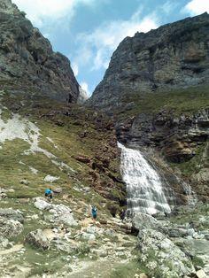 Parque Nacional de #Ordesa y Monte Perdido CASCATA A CODA DI CAVALLO MUST GO