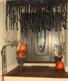 door decorating halloween decorating ideas ideas for halloween halloween stuff halloween crafts halloween costumes fun costumes diy halloween - Cheap Ways To Decorate For Halloween