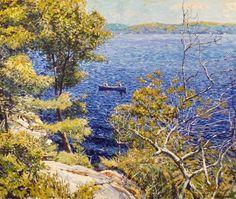 Garth Armstrong - Wolf Lake Kawartha Highlands 30 x 36