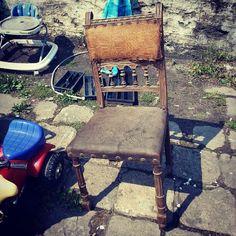 Todays flea #1 #vintage #fleamarket #flohmarkt #brocante #flea #fleamarketfinds #Stara Rzeźnia #pchlitarg #poznan #antiques #retro #starocie #stararzeznia #chair #krzesło #stuhl