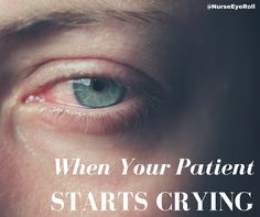 Practical tips for when patients and families start crying and you have no idea what to do.