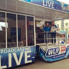 We are live from @westwaterfordfestivaloffood in the Plaza Dungarvan today until 4pm. Lots of goodies to give away come along and say hello  #wwfof17