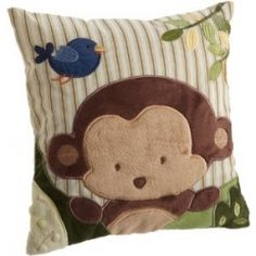 Kids Line Jungle 123 Throw Pillow