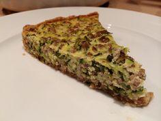 Zucchini-Quiche mit Hackfleisch